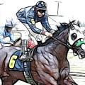 Racetrack Dreams 8 by Bob Christopher