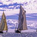 Racing On Open Waters by Joe Geraci