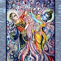 Radha Krishna - Cosmic Dance by Harsh Malik