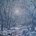 Radiant Snow Scene by Leonard Holland