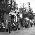 Radio Alley In New York by Underwood Archives
