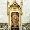 Radovljica Church Door by Lindley Johnson