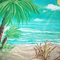 Raelee's Beach by Susan Michutka