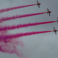 Raf Scampton 2017 - Red Arrows Enid Formation by Scott Lyons