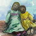 Rag Dolls by Ethel Dixon