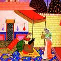 Ragamala Painting by Shreekant Jadhav