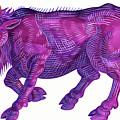 Raging Bull Taurus by Jane Tattersfield