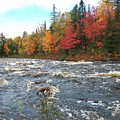 Raging Michigamme River by Johnny Yen