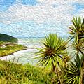 Raglan Coastline by Les Cunliffe