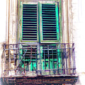 Ragusa Window by Claude LeTien