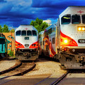 Rail Runner Express by Garry Gay