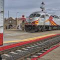 Rail Runner Train Albuquerque Nm Sc02985 by Greg Kluempers