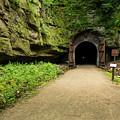 Rail Trail Tunnel 2 A by John Brueske