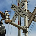Railroad Crossing  by Christine Townsend