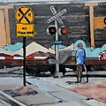 Railroad Crossing by Donna Tuten