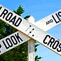 Railroad Crossing by Jean Hall