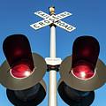Railroad Crossing Lights by Todd Klassy