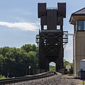 Railroad Lift Bridge 2 C by John Brueske