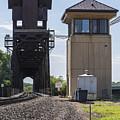 Railroad Lift Bridge2 A by John Brueske