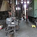 Railroad Shop by Larry Darnell