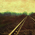 Railroad Track Glow by Anna Louise