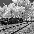 Railroad Tracks Bw by Anthony Sacco