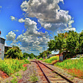 Railroad Tracks by Savannah Gibbs