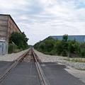 Railroad Tracks by Valerie Bruno