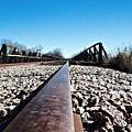 Railroad Trestle  by James Smullins