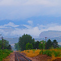 Railway Into The Clouds by James BO Insogna