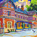 Railway Station In Lednice by Vitali Komarov
