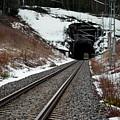Railway Track by Esko Lindell