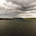 Rain Arrives Before Tall Ships by Miroslava Jurcik
