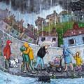 Rain by Barbara de Mora