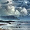 Rain Clearing Kaneohe Bay by Dan McManus