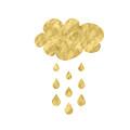 Rain Cloud- Art By Linda Woods by Linda Woods