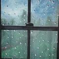 Rain On The Window by Susan Michutka