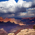 Rain Over The Grand Canyon by Mike  Dawson