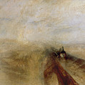 Rain Steam And Speed by Joseph Mallord William Turner