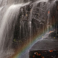 Rainbow And Chapman Falls by Juergen Roth