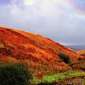 Rainbow And Ridges by Thomas R Fletcher