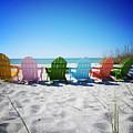 Rainbow Beach Vanilla Pop by Chris Andruskiewicz