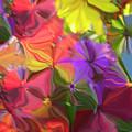 Rainbow Bouquet by Wayne King