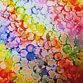 Rainbow Bubbles by Hazel Holland