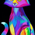 Rainbow Cat by Nick Gustafson