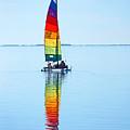 Rainbow Catamaran by Lawrence S Richardson Jr