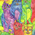 Rainbow Cats 2017 07 01 by Angel Ciesniarska