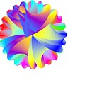 Rainbow Cluster by Michael Skinner