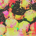 Rainbow Color Cupcakes by Jorgo Photography - Wall Art Gallery
