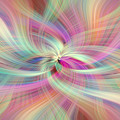 Rainbow Colored Abstract. Concept Divine Virtues by Jenny Rainbow